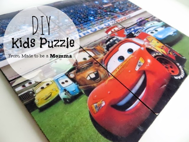 Diy Kids Puzzle
