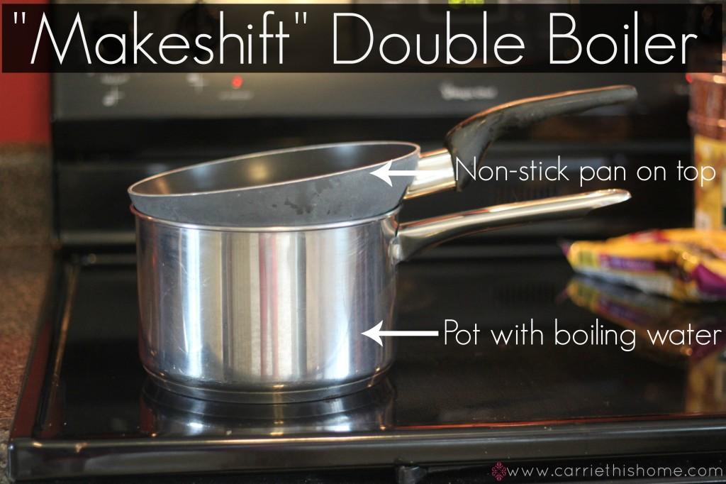 Makeshift Double Boiler