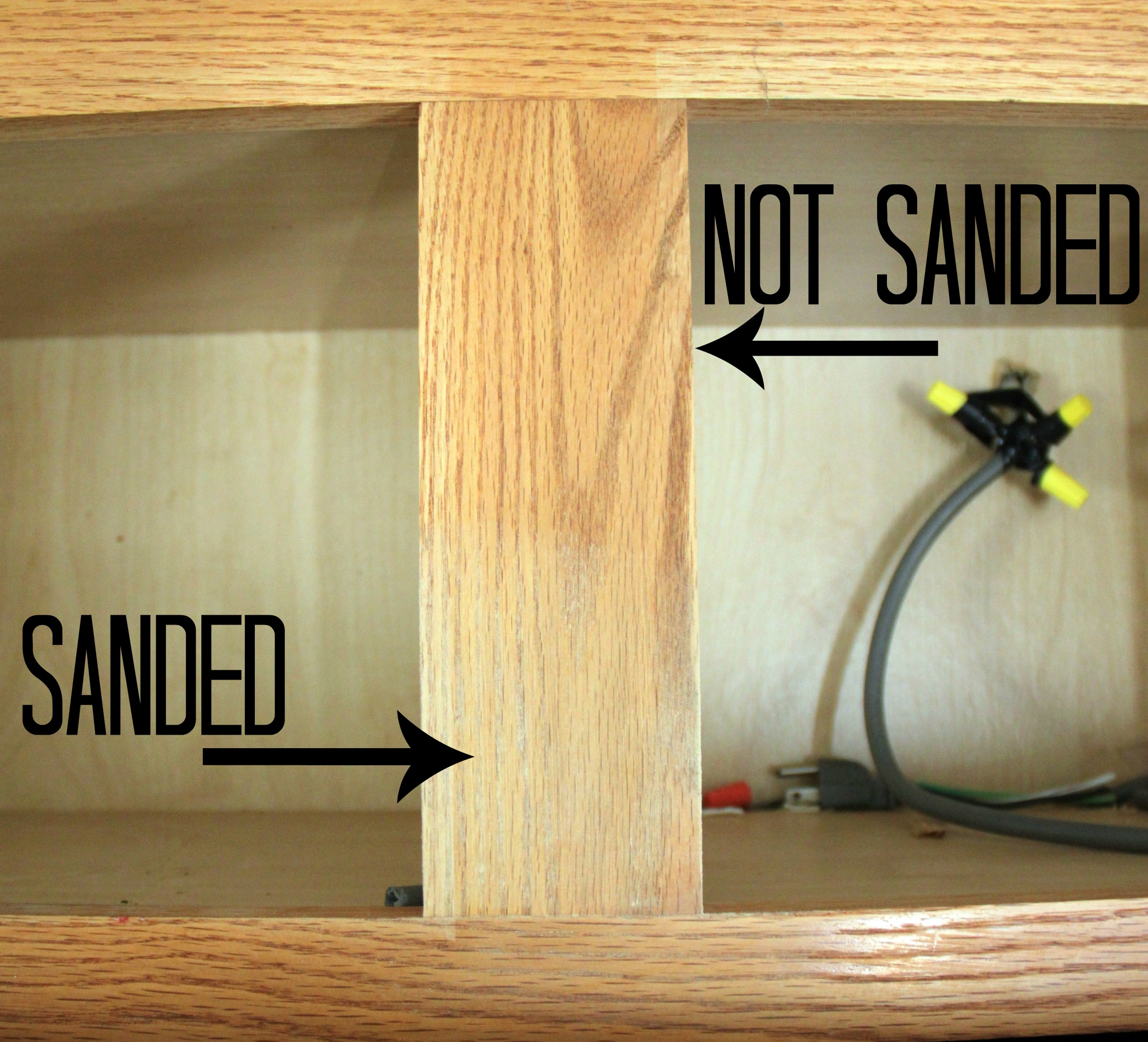 How Much Sanding Do You Do To Cabinets Before Painting Them
