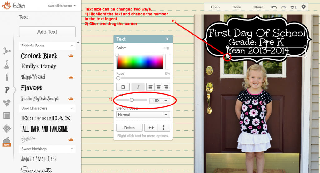 back to school picture tutorial6