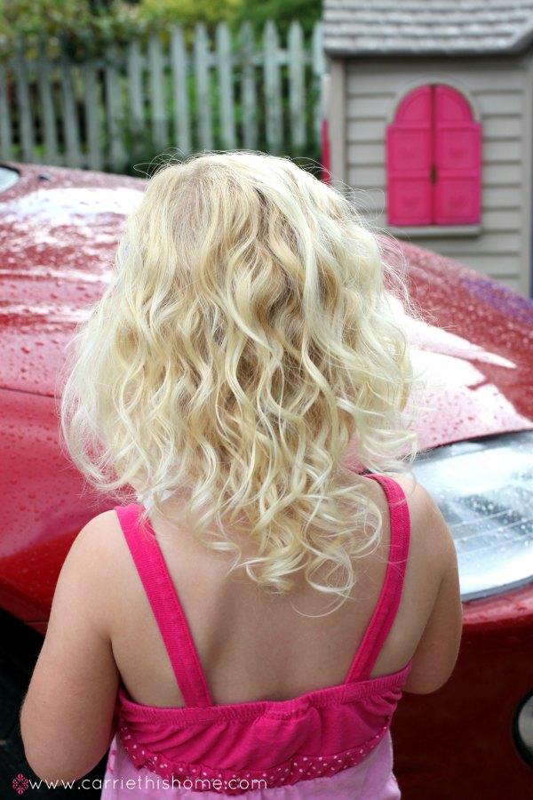 Daughter's hair