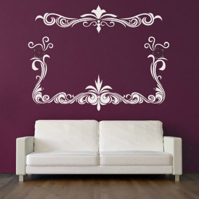 Frame out a famiy gallery wall with Icon Wall Stickers