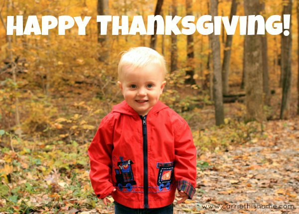 How To Make Your Own Thanksgiving Photo Card!