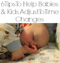 How To Help Kids Adjust To Time Change