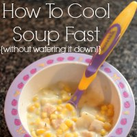 How To Cool Soup Fast!