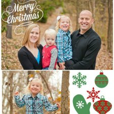 How To Make A Photo Collage Christmas Card