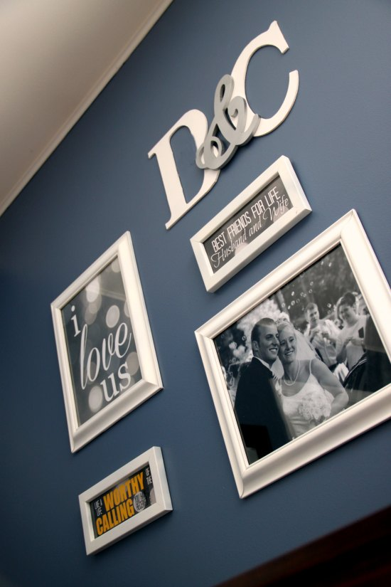 Beautiful gallery wall on a budget
