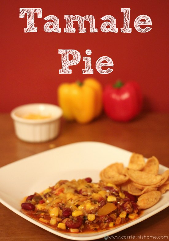Tamale Pie hearty and healthy meal perfect for the big game!