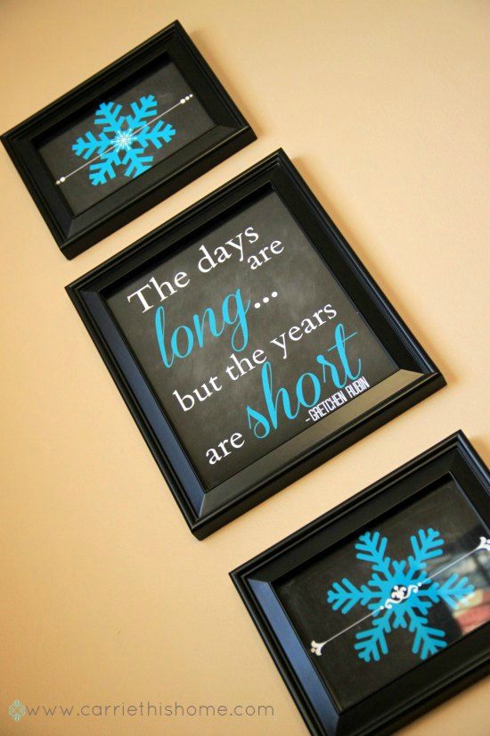 The days are long but the years are short free printable