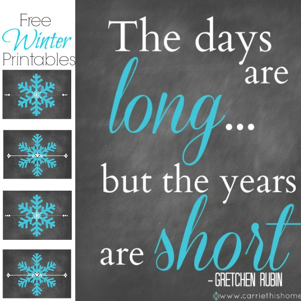 Winter Printable Collection {Free!}