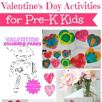 Valentine's Day Activites for Pre-K Kids