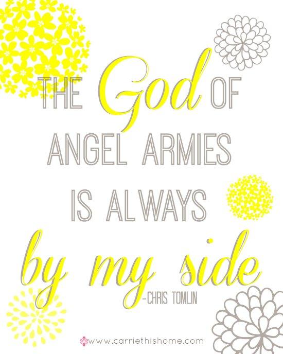 God of angel armies blog version