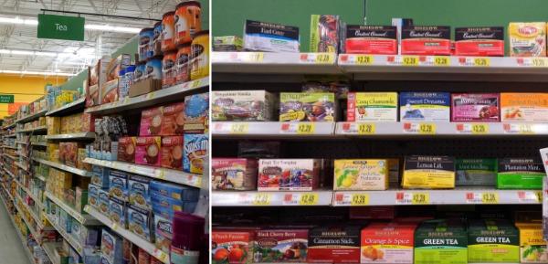 Bigelow Tea is easy to find at Walmart