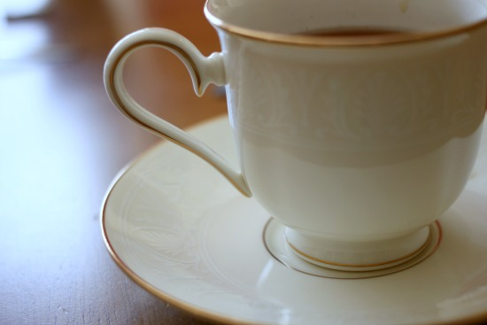 Get out the good tableware for a Bigelow Tea party!