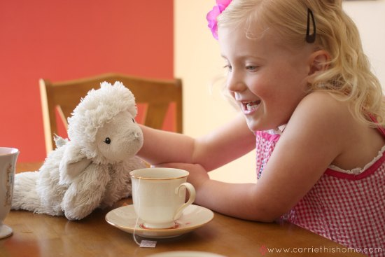 Have a fun tea party with your little ones with Bigelow Tea