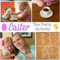 Easter Tea Party Activity With Bigelow Tea