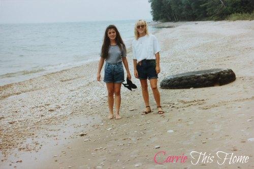 Fun memories at the beach