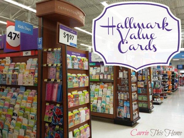 Hallmark Value Cards available at Walmart!