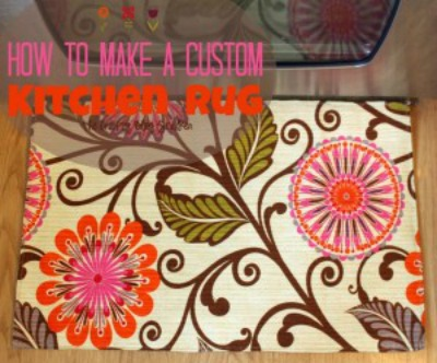 How to make your own custom kitchen rug