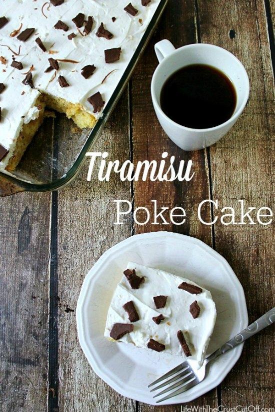 Tiramisu-Poke-Cake