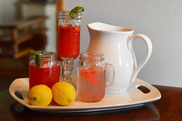 Basil Berry Lemonade