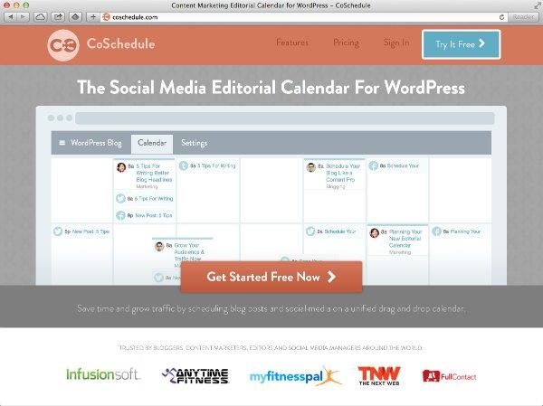 CoSchedule-The social media editorial calendar for WordPress