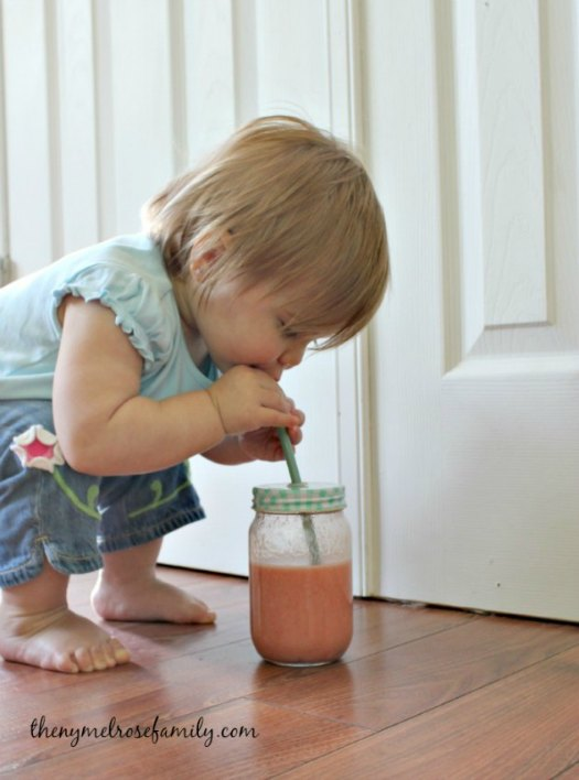 Watermelon-Banana-Smoothie-for-Kids