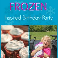 Frozen Inspired Birthday Party