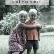 Play With The Kids, Clean & Exercise At The Same Time
