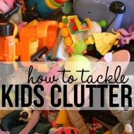 How To Tackle Kids Clutter