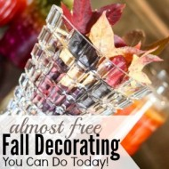 Almost Free Fall Decorating You Can Do Today