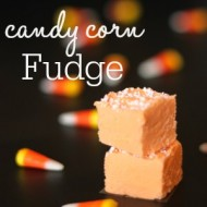 3 Ingredient Candy Corn Fudge