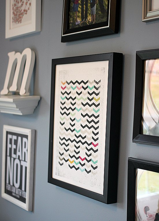 Dirty Chevron by Matthew Taylor Wilson on Minted