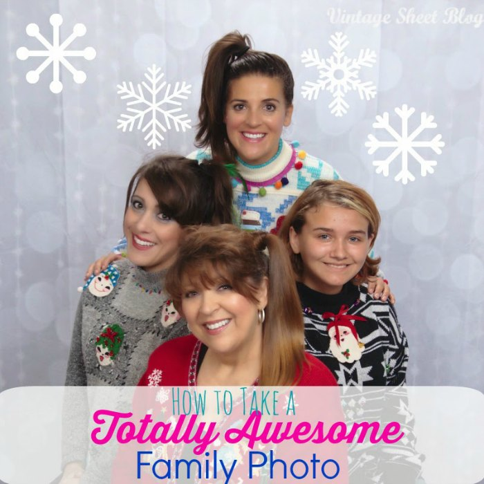 How to make a totally awesome family photo