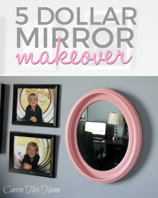 This tutorial shows you exactly how to paint an old mirror or frame and give it new life!