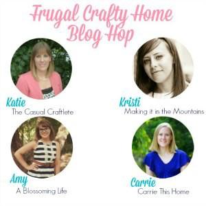 Frugal Crafty Home Blog Hop #149