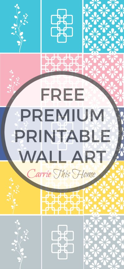 Free Premium Printable Wall Art From Carrie This Home