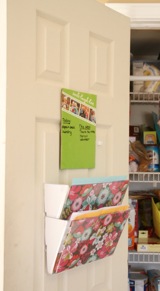 Keep your family organized with this easy 10 minute 15 dollar family command center. You'll be so glad you did!