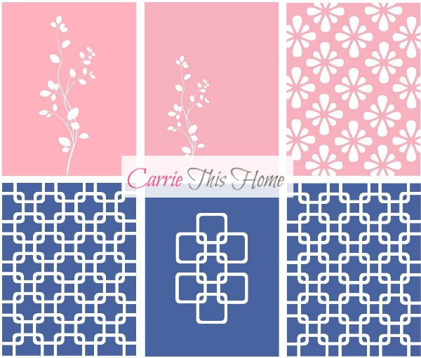 This is the jackpot of free printable wall art! 5 designs in 11 different colors! Get yours today at CarrieThisHome.com!