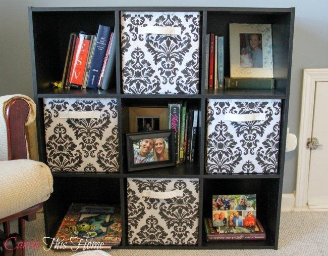 Make furniture multi task in a multi functional room