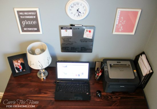 Easy DIY desk anyone can make!
