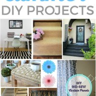 Easy Summer DIY Projects {Frugal Crafty Home Blog Hop #130}
