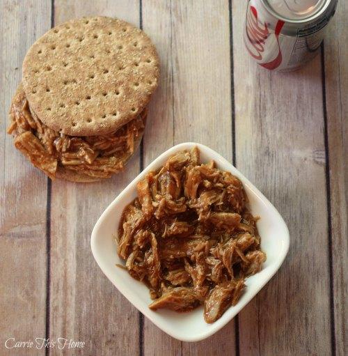 Sweet & savory crock pot barbeque pork