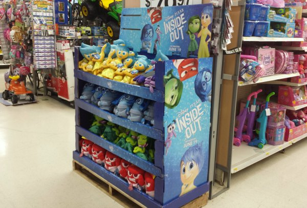 Disney's Inside Out Plush Characters at Walmart