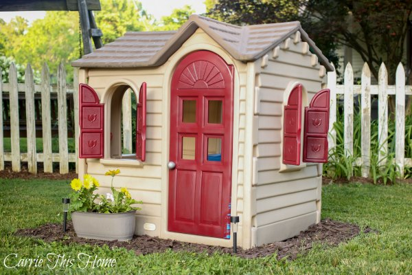 Easy Little Tikes Play House Makeover