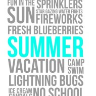 Summer Fun Free Printables