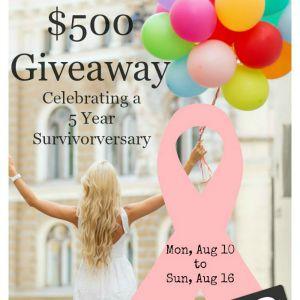 $500 Amazon Gift Card Giveaway