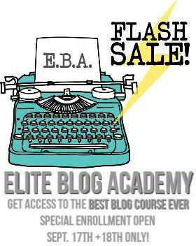 EBA flash sale