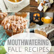 Mouthwatering Fall Recipes & Frugal Crafty Home Blog Hop #145