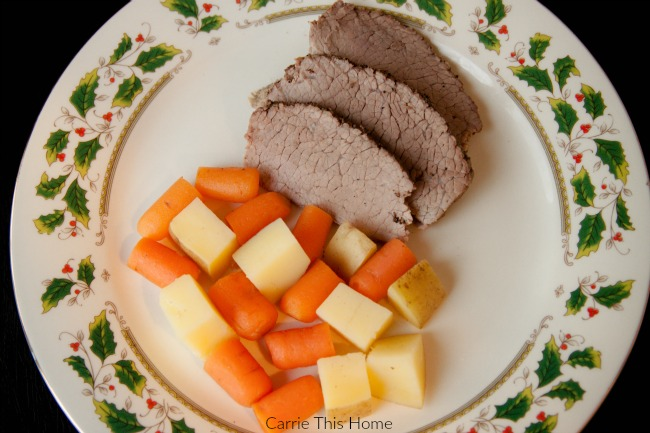 Easy Pot Roast slow cooker recipe by Carrie This Home